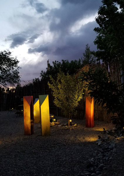 Trilogy in Ridgeway Sculpture Garden